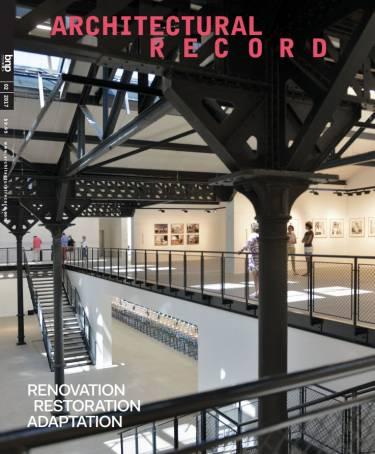 Architectural Record, Luma Arles, Selldorf Architects