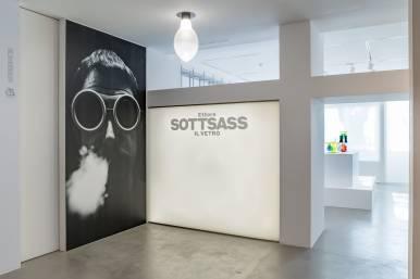 """""""Ettore Sottsass: The Glass"""" Le Stanze del Vetro - Selldorf Architects – New York -"""
